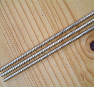 Super Duplex 2507 UNF Threaded Rod
