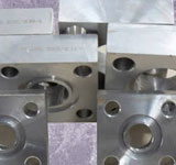 Stainless Steel UNS N08904 Flange Square