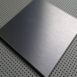 Hairline Stainless Steel 316l Sheet