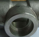 ASTM A182 Stainless Steel Socket Weld Equal Tee