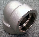 Chromium Stainless Steel Socket Weld 3D Elbow