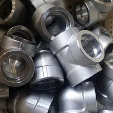 Stainless Steel Fittings:- Asme Sa 182 F904l 3/4 X 3000 Sw Tee Sch40s