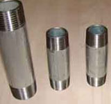 2 x 2-1/2 in. MNPT Schedule 40 316L Stainless Steel Threaded Both End Weld Nipple