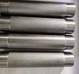 1/2 x 1-1/2 in. MNPT Schedule 40 304L Stainless Steel Weld Threaded Both End Nipple