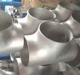1-1/2 in. Weld Schedule 10 316L Stainless Steel Tee